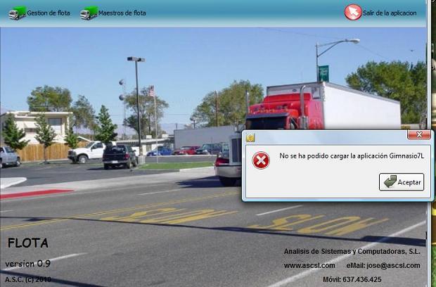 Error pro falta de licencias disponibles